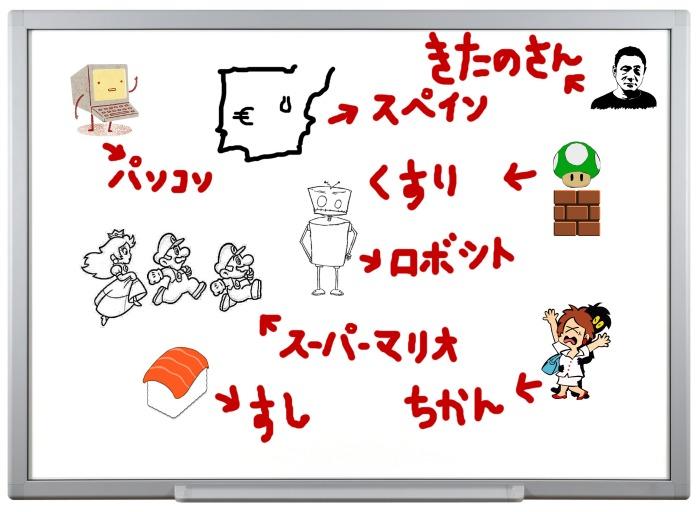 collage clase japonés