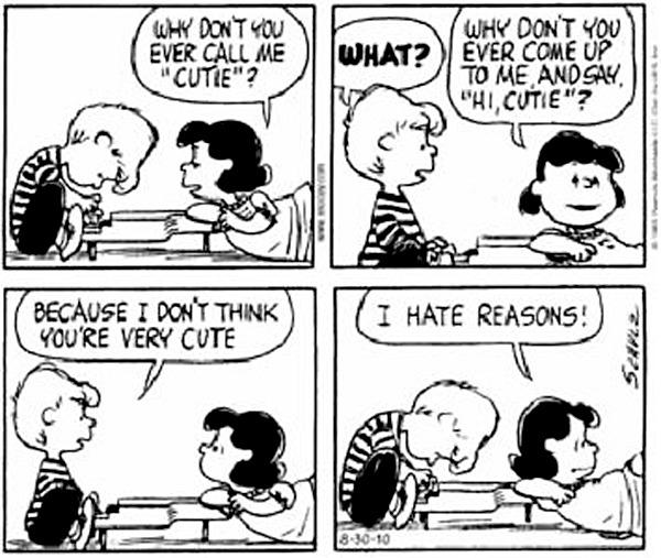 Lucy y Schroeder