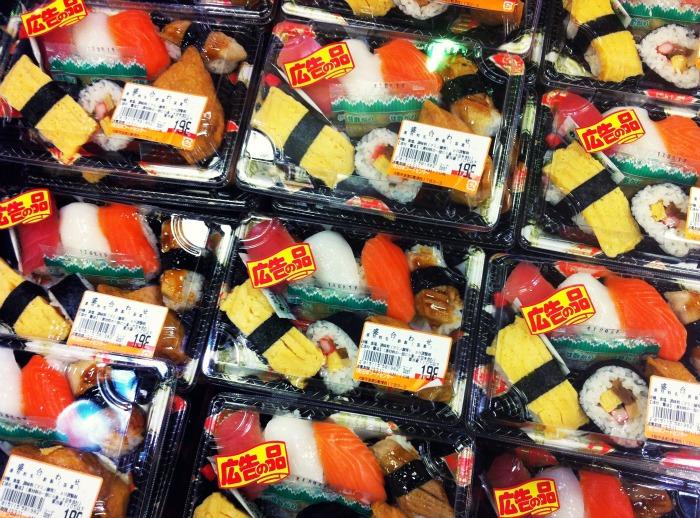 sushi supermercado
