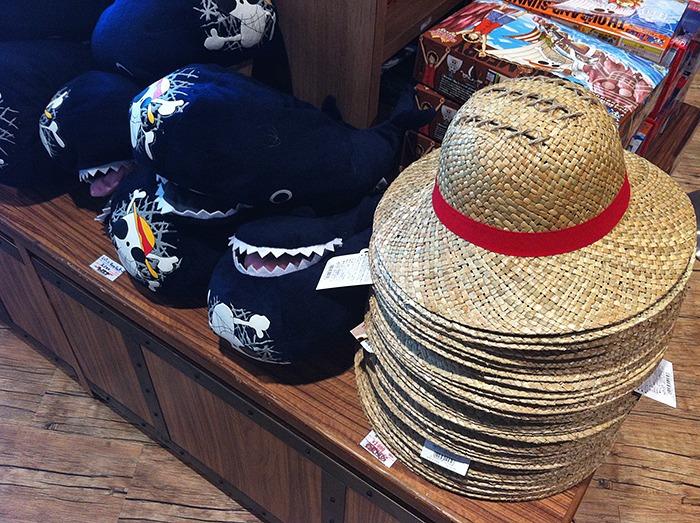 El sombrero de Luffy por 2000 yenes (15 euros)