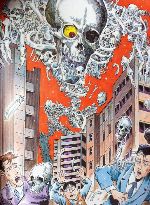 Interpretación de Tatsuya Morino de como sería un gashakoduro moderno