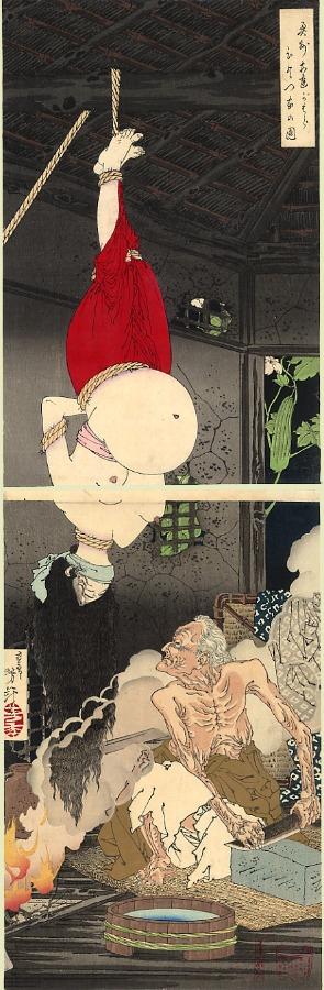Kuniyoshi, la casa solitaria