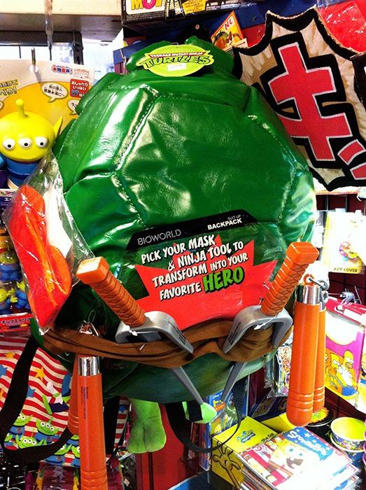 Tortugas Ninja mochila
