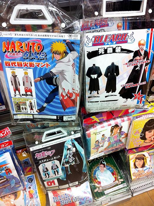 Disfraz Naruto y Bleach