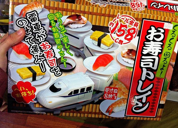 Sushi giratorio