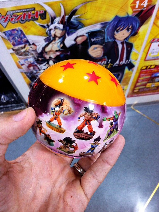Dragon Ball Capsule returns