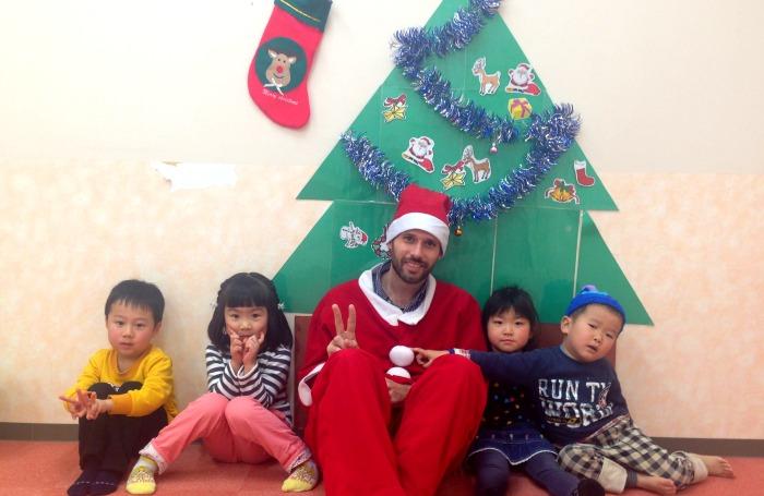 David Claus y cuatro gamberretes