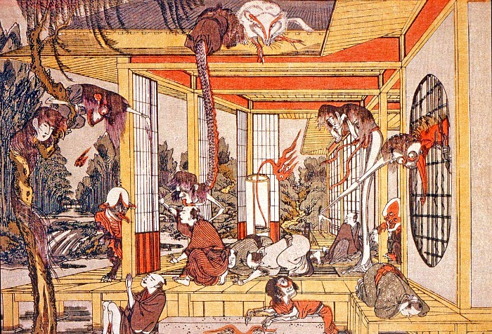 Un Hyakumonogatari kaidankai que no salió bien.