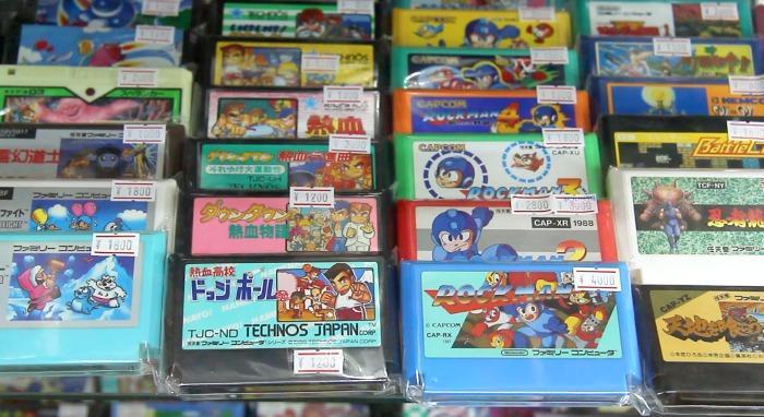 Algunos de los juegos más solicitados de la NES (Nintendo Famicom)