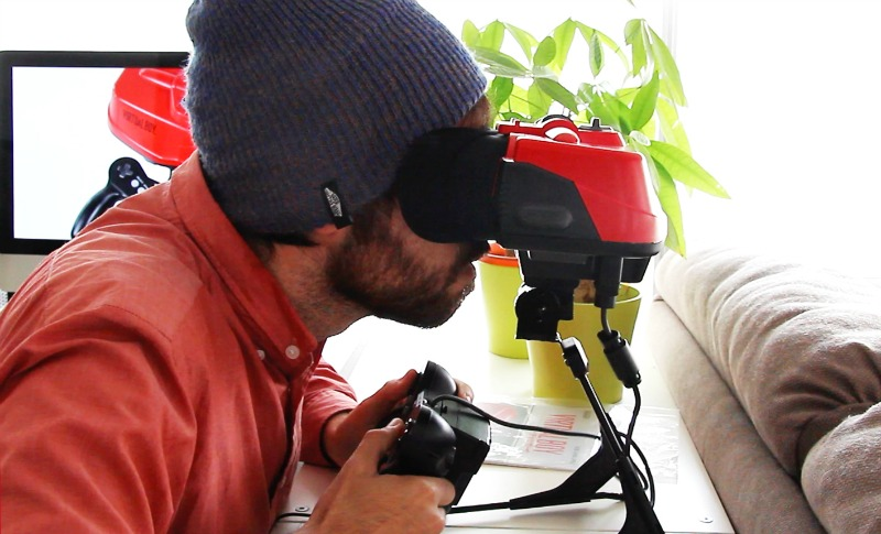 Probando la Virtual Boy blog