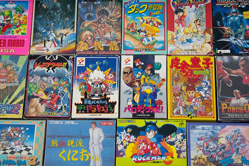 Juegos Famicom baja