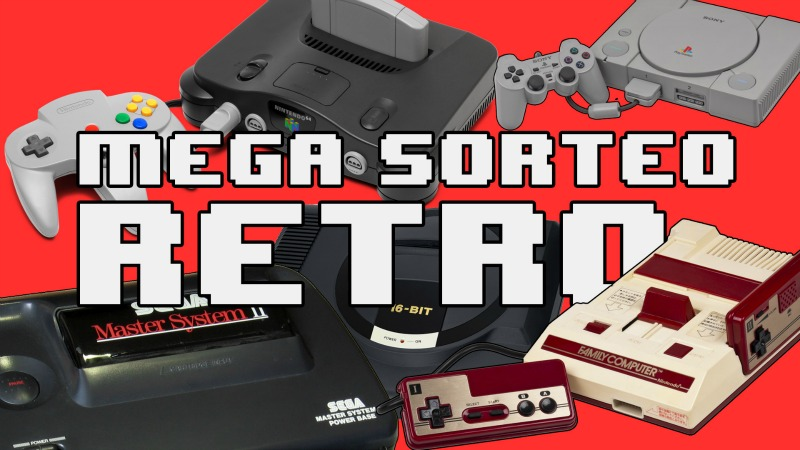 Mega sorteo retro youtube blog
